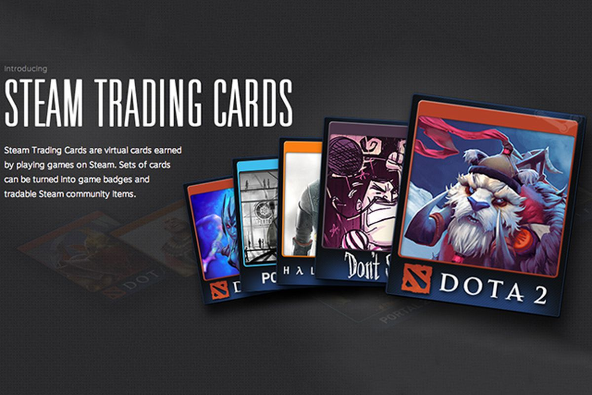 Steam Trading Cards reward in-game achievements with game