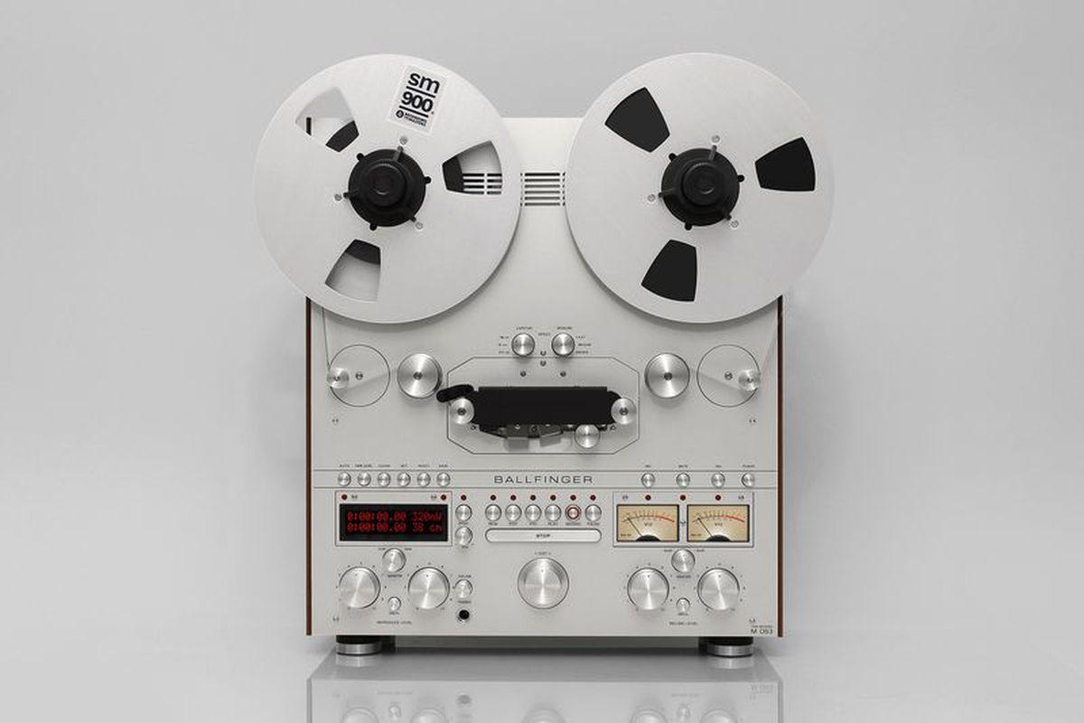 Ballfinger's beautiful reel-to-reel tape decks are for nostalgia