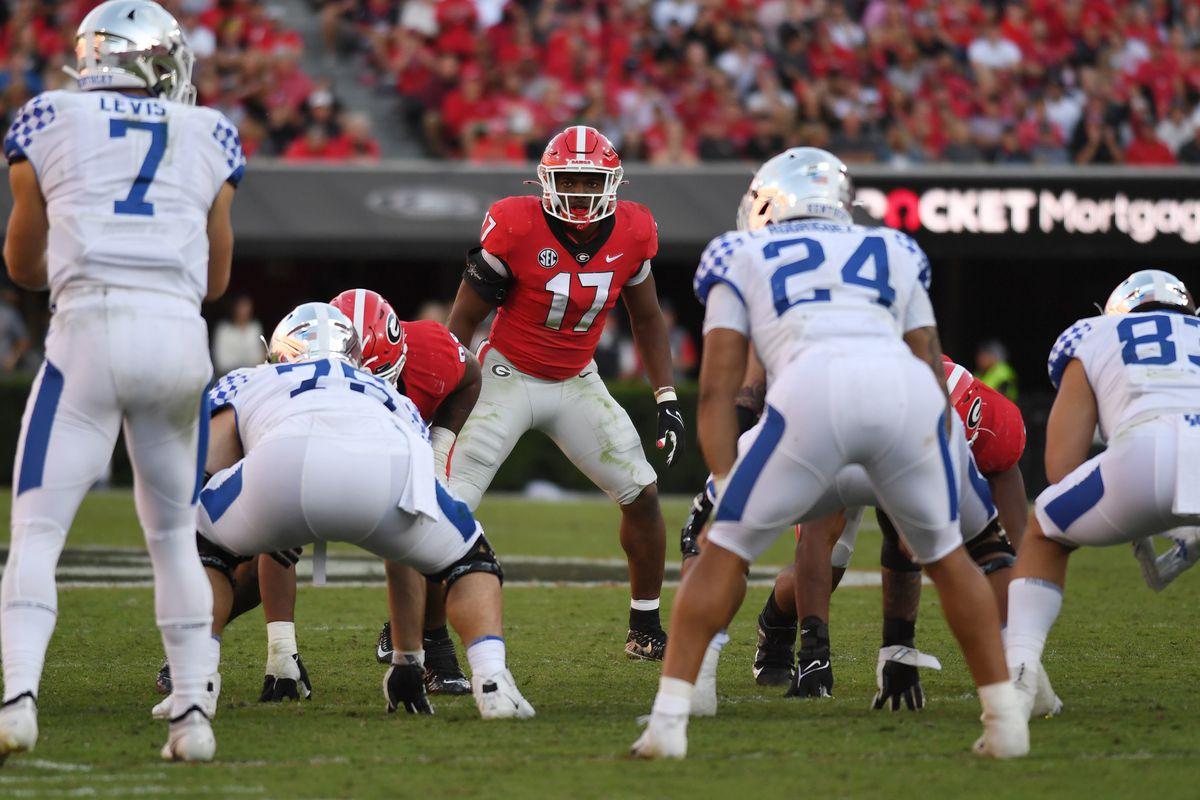 COLLEGE FOOTBALL: OCT 16 Kentucky at Georgia