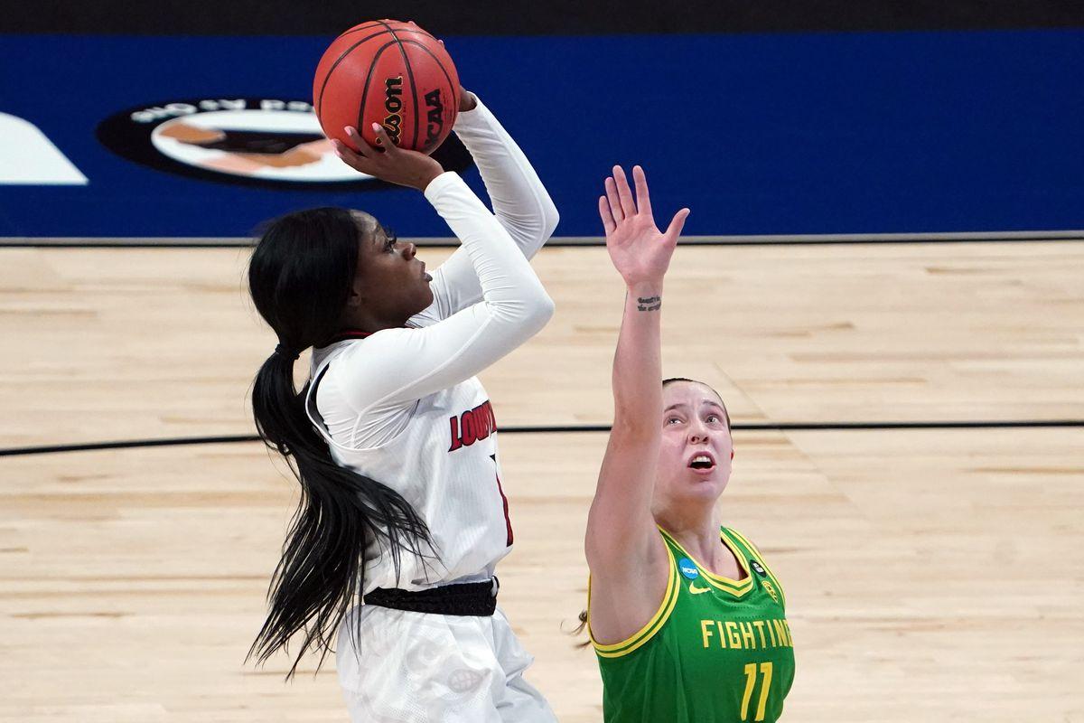 NCAA Womens Basketball: Sweet Sixteen-Oregon at Louisville
