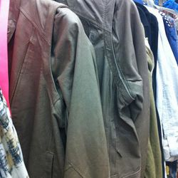 Leather jackets for $90