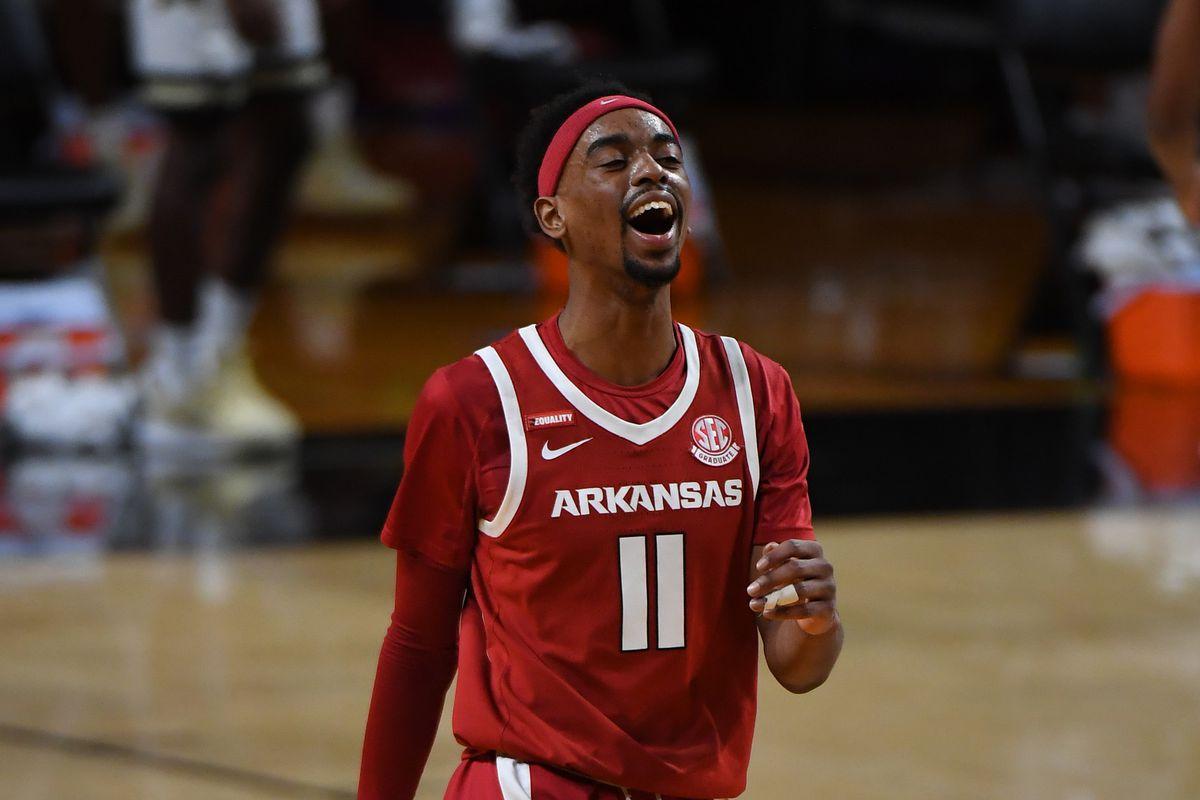 NCAA Basketball: Arkansas at Vanderbilt