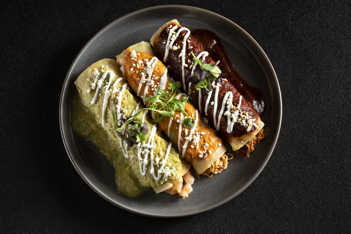 Enchiladas from Diablo's Cantina