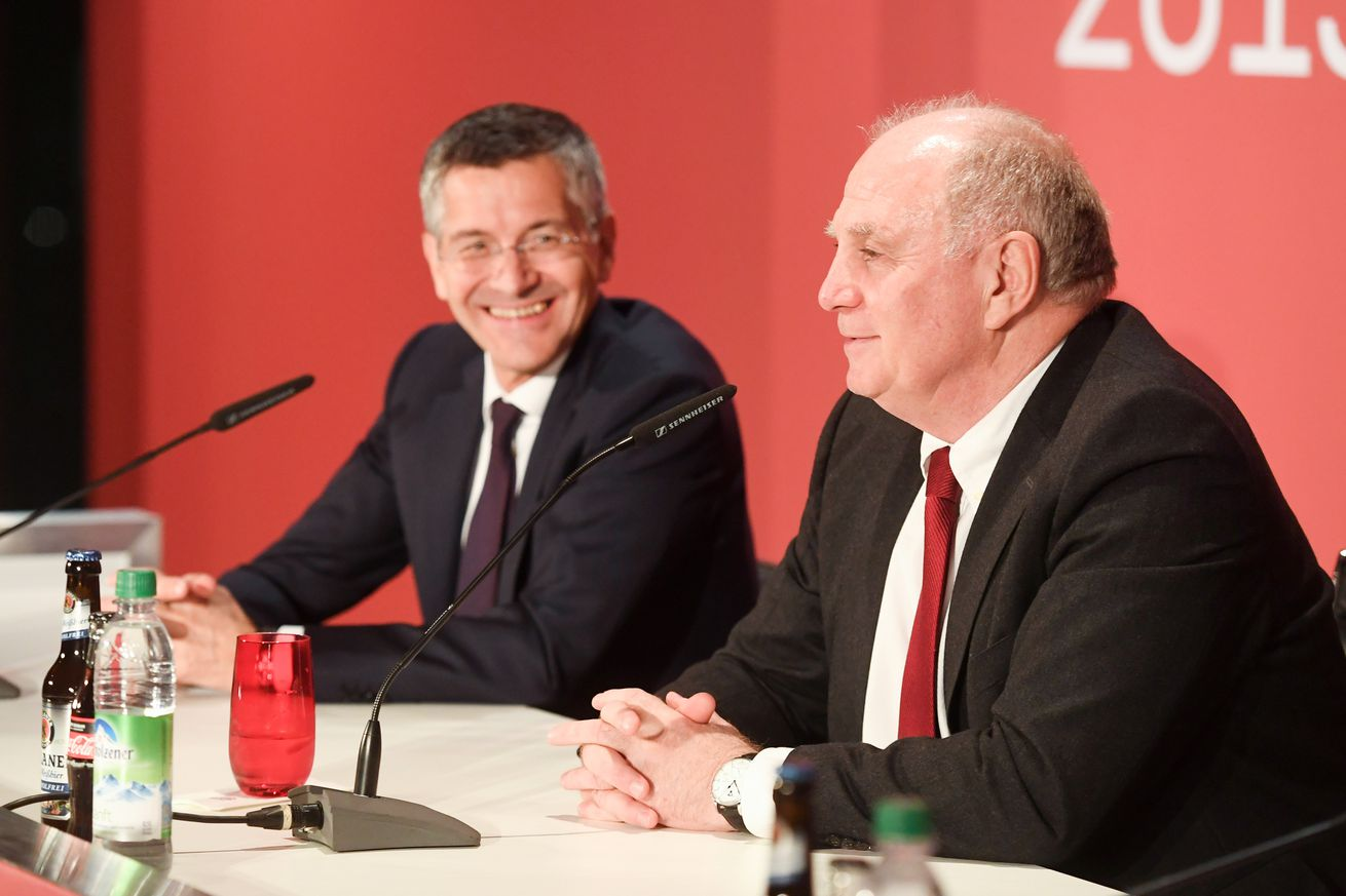 Herbert Hainer, Uli Hoeness don?t rule out a Pep Guardiola return to Bayern Munich