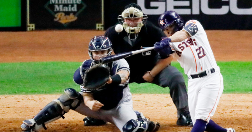 Altuves walk-off homer lifts Astros to World Series