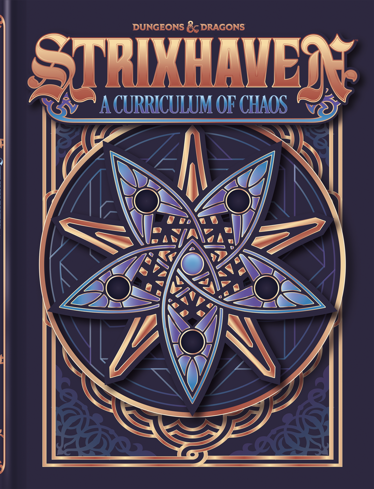 The bookstore-exclusive alternate cover of Strixhaven: A Curriculum of Chaos