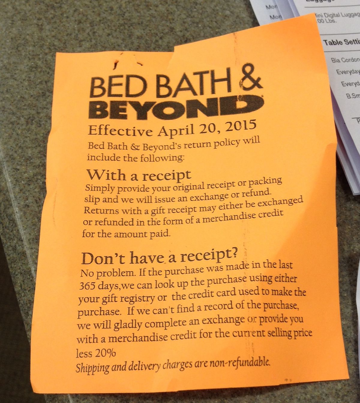 Exclusive Say Goodbye To Bed Bath Beyond S Generous Return Policy Racked