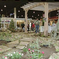 Booths at the home improvement show offer products for every room of the house and the yard and patio.