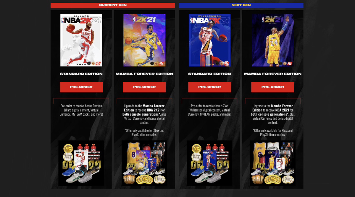 Nba 2k21 S Ps5 And Series X Versions Will Cost 69 99 The Verge