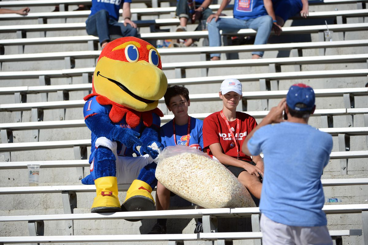 NCAA Football: Ohio at Kansas