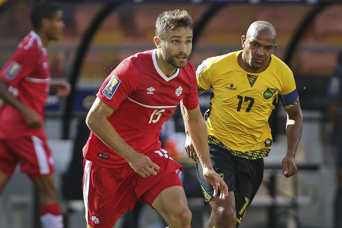 Soccer: Gold Cup-Jamaica at Canada
