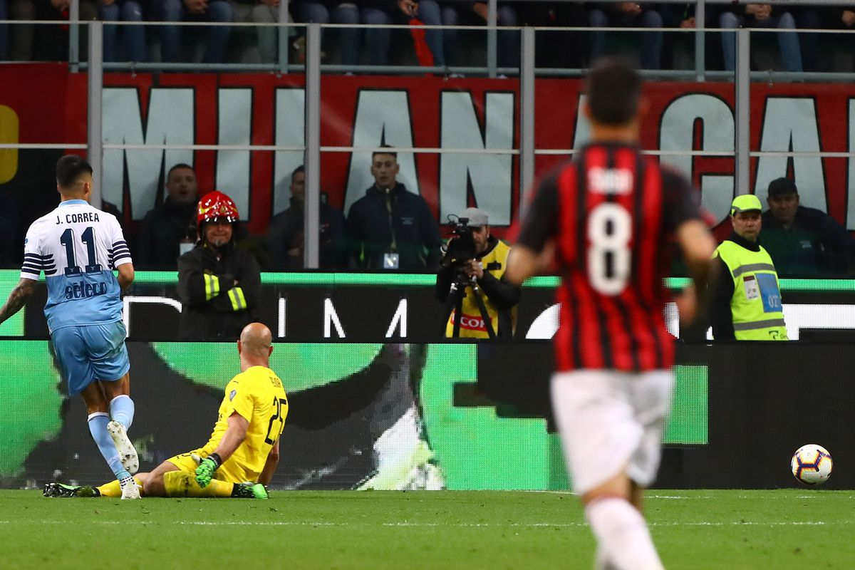 Tactical Review of AC Milan's Sad 1-0 Bow Out of the Coppa Italia against  Lazio - The AC Milan Offside