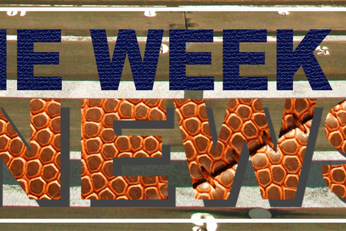 The Week in News title logo