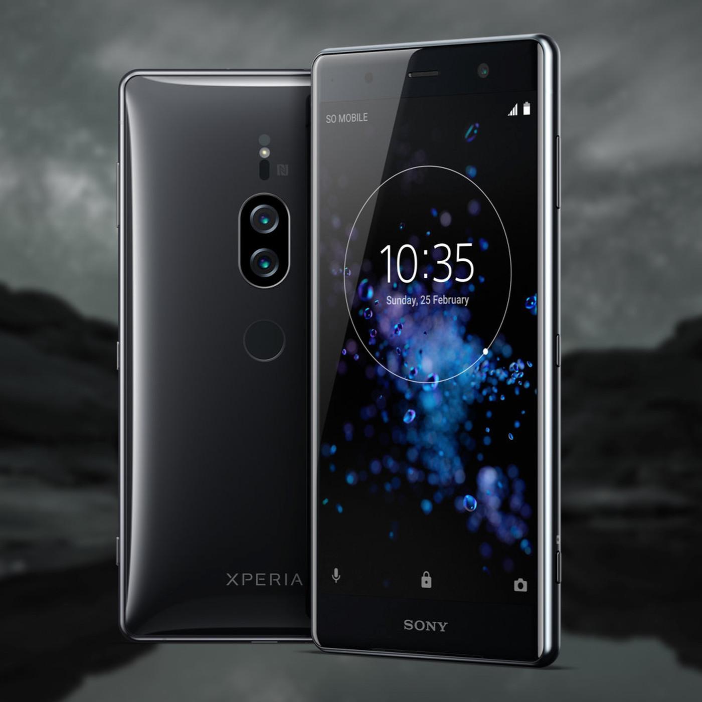 Sony's Xperia XZ2 Premium sở hữu màn hình 4K sắc nét