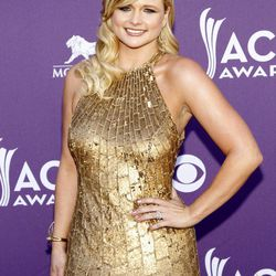 Miranda Lambert arrives at the 47th Annual Academy of Country Music Awards on Sunday, April 1, 2012 in Las Vegas.