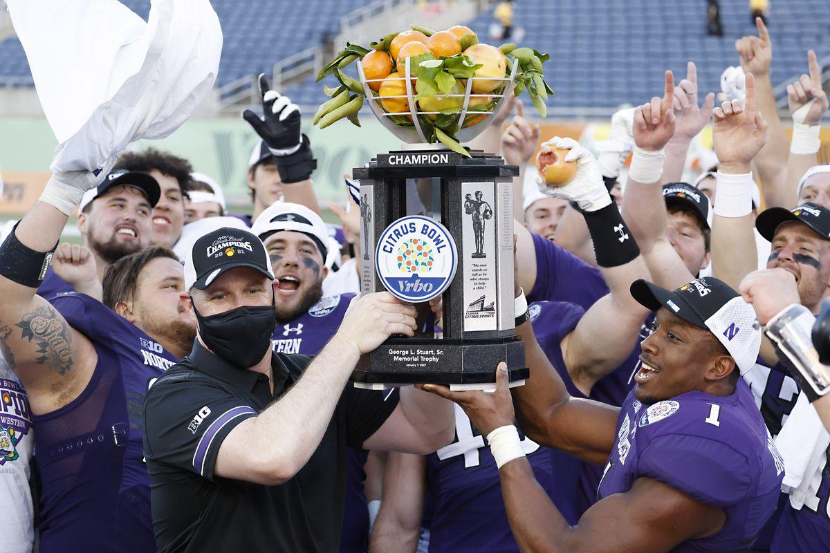 NCAA Football: Citrus Bowl-Auburn vs Northwestern