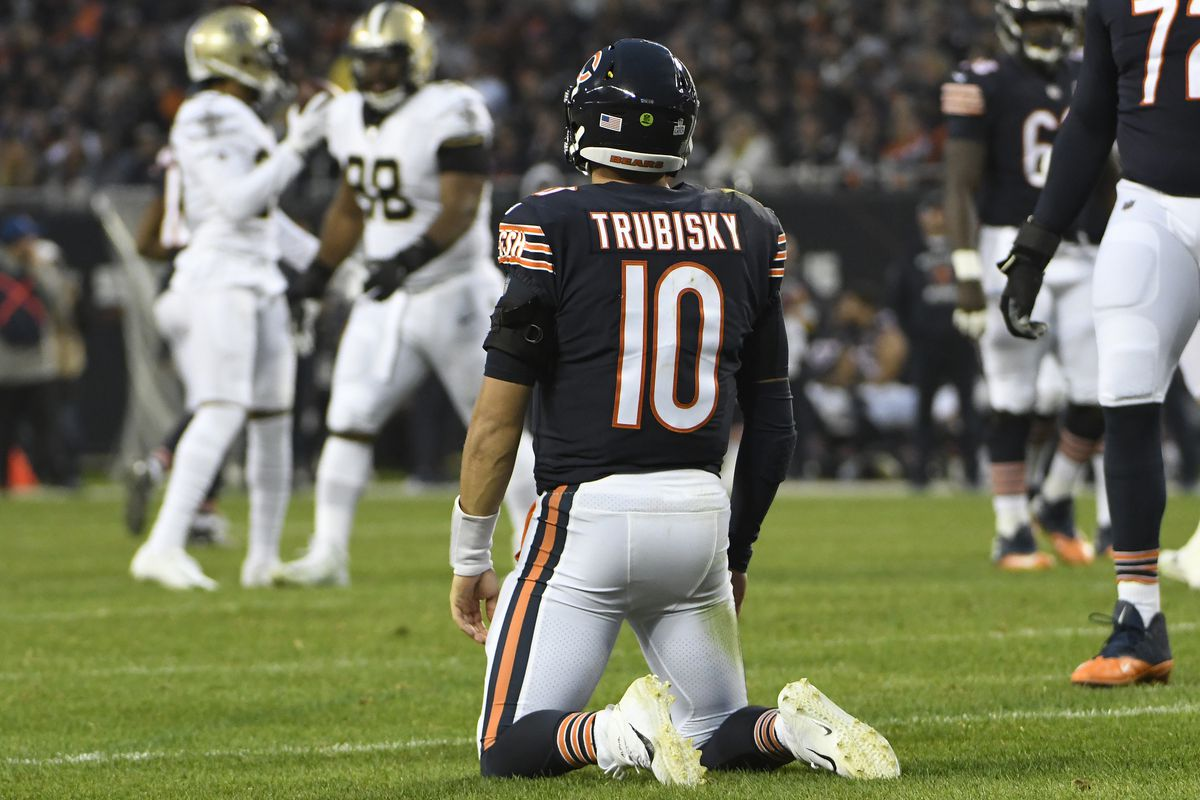 Mitchell Trubisky will be tested this season after the Bears added Nick Foles in the offseason