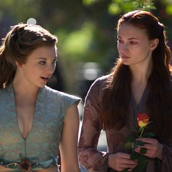 Season 3: We are introduced to Margaery's cleavage and beautiful hair.