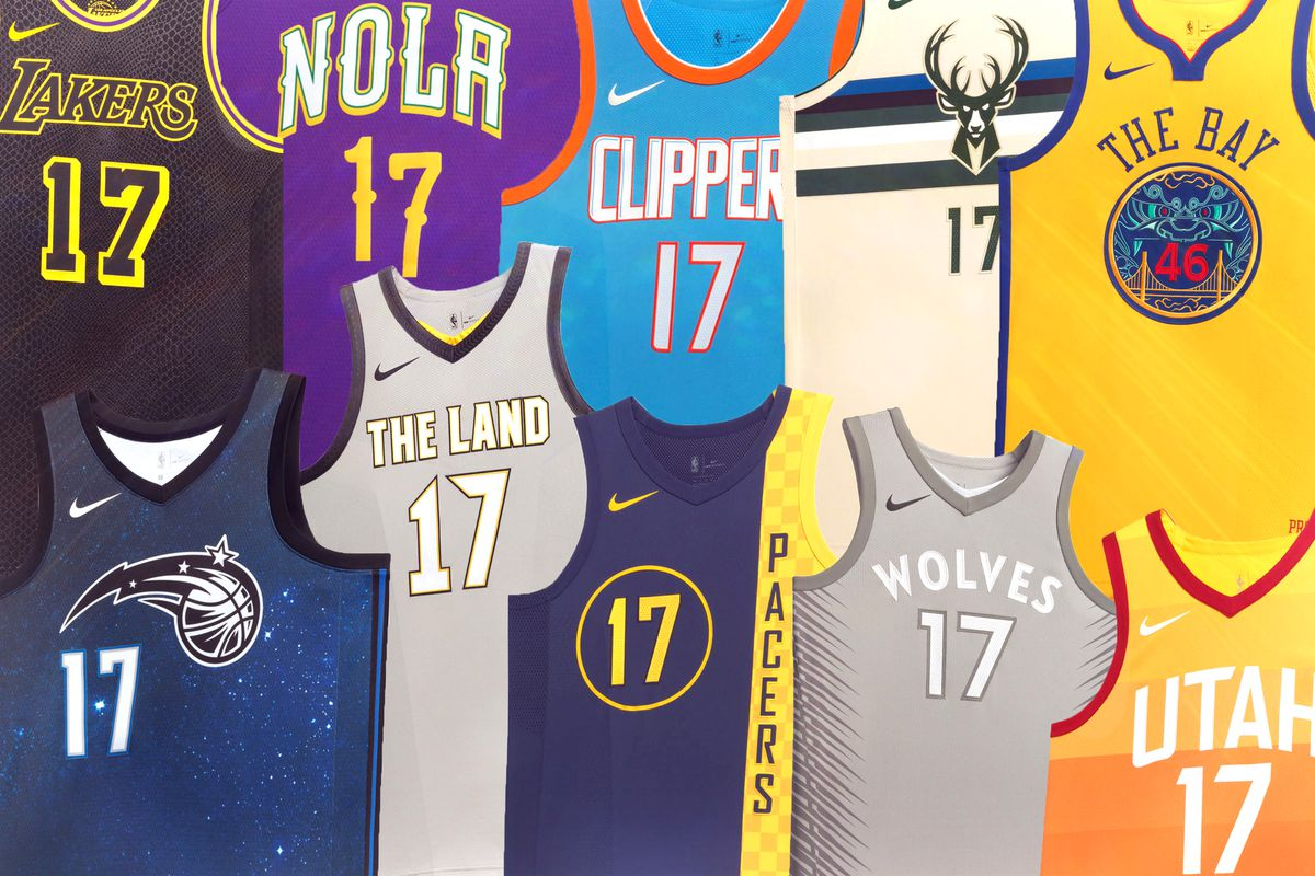 "389a116dbf0e The Nike ""City"" Uniforms Are Occasionally Iconic"