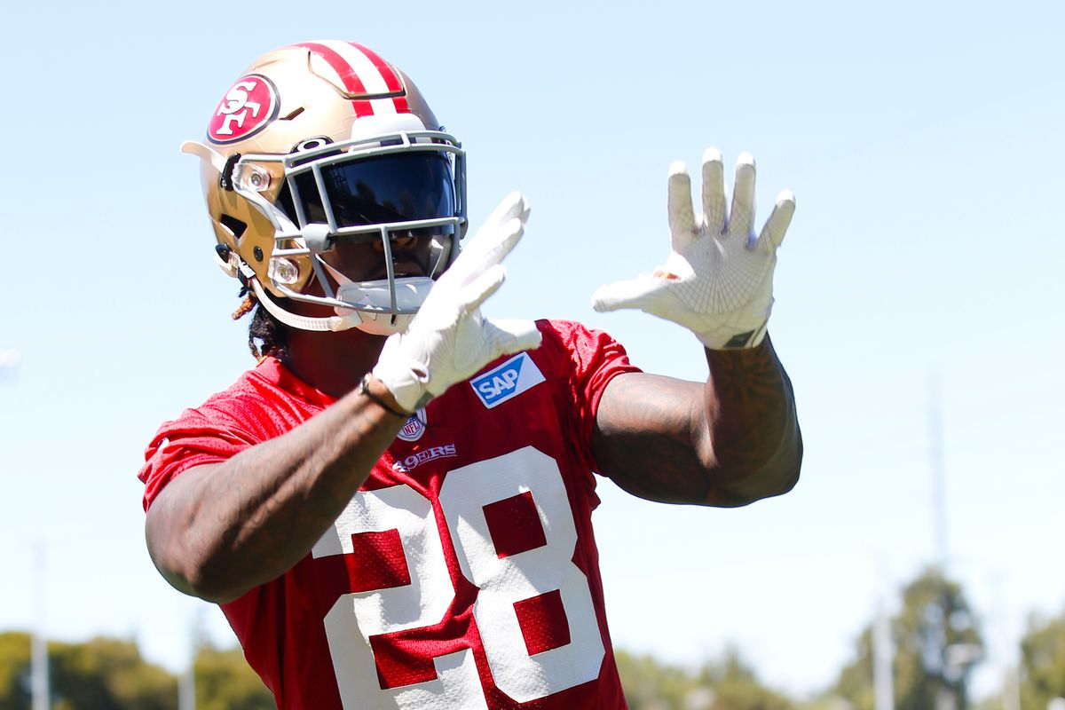 brand new 3b1a0 878f6 Golden Nuggets: Jerick McKinnon is back at practice - Niners ...