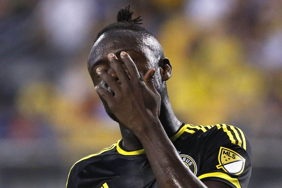 Kei Kamara added to his league-leading goal total, but Columbus let a three-goal lead get away in a draw with Toronto on Saturday.