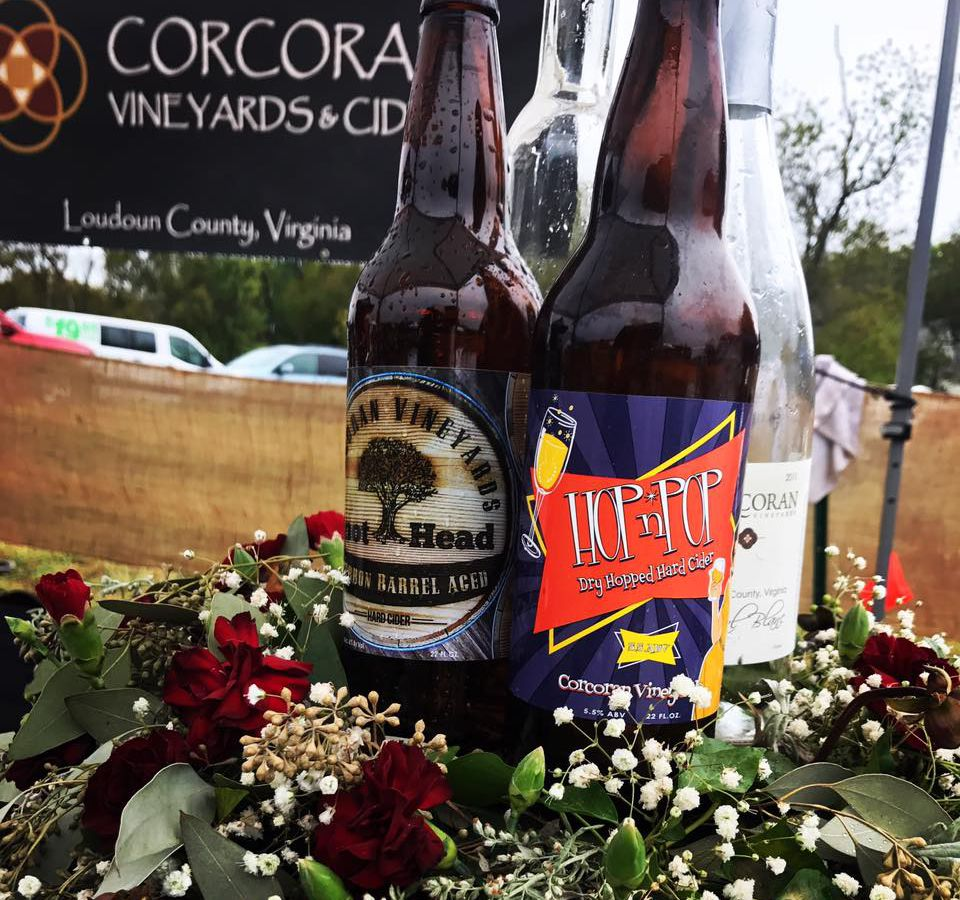 Corcoran Vineyards & Cidery VA cider