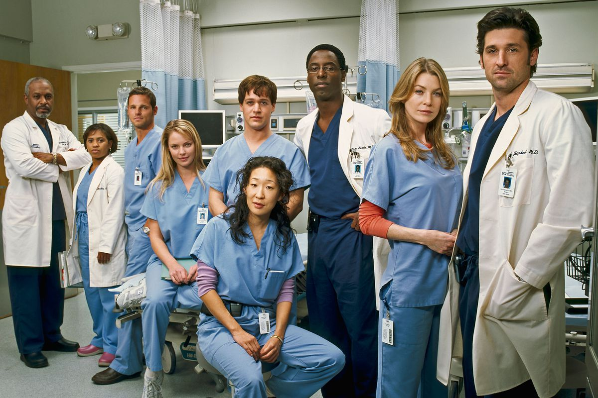 """101962_R003_0031 — GREY'S ANATOMY - """"Grey's Anatomy"""" focuses on young people struggling to be doctors and doctors struggling to stay human. It's the drama and intensity of medical training mixed with the funny, sexy, painful lives of interns who are about to discover that neither medicine nor relationships can be defined in black and white. Real life only comes in shades of grey. (Submission date: 03/23/2005)"""
