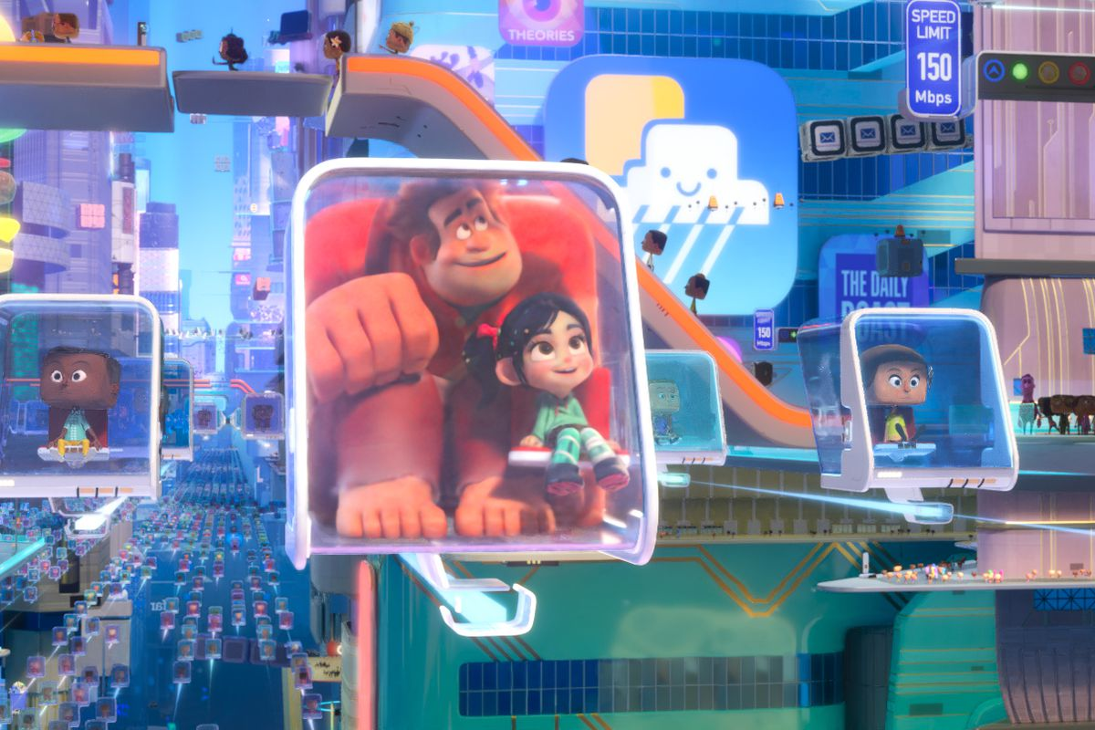 Ralph Breaks the Internet review: a joyous yet heartbreaking romp - Vox