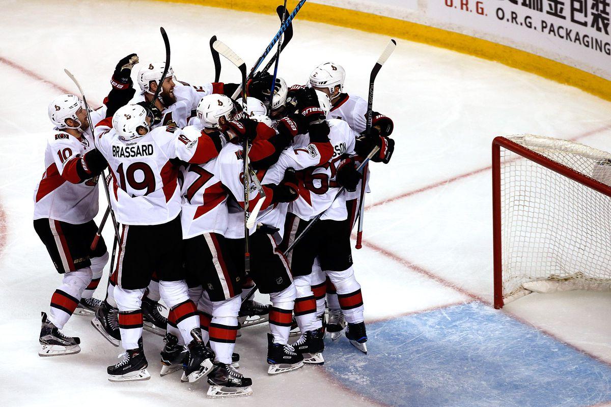 Ottawa Senators v Boston Bruins - Game Three