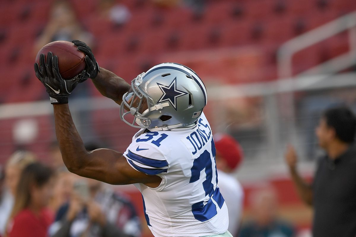 """bc563d05 Stephen Jones says Cowboys have a """"distribution dilemma,"""" but which ..."""