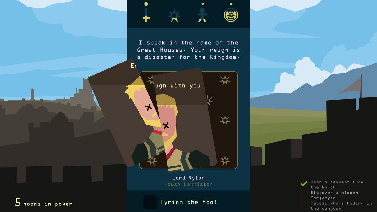 Reigns: Game of Thrones - Lord Rylon of House Lannister
