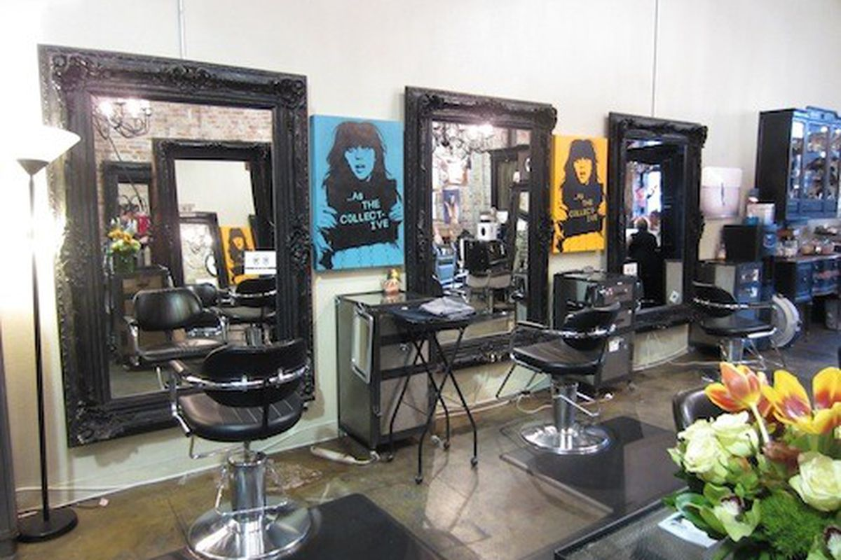 """Gorgeous, but consider this picture of the old Hairroin Salon a """"before."""" Come out on Thursday night to check out the """"after."""""""