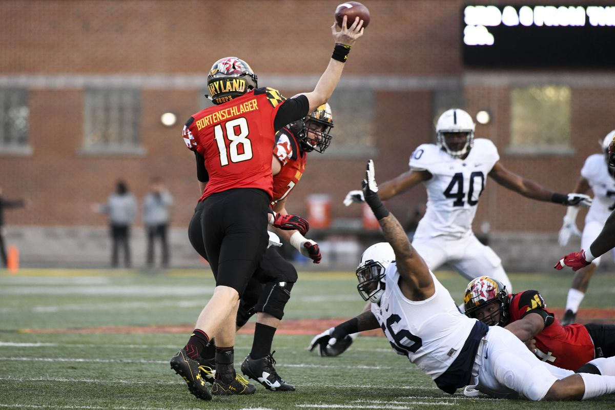 COLLEGE FOOTBALL: NOV 25 Penn State at Maryland
