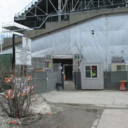 View of Gate K/J area on Waveland -