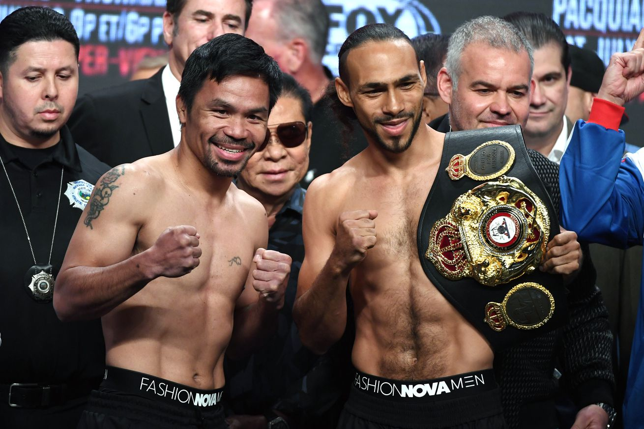 1163036831.jpg.0 - Weights: Pacquiao-Thurman set for Saturday