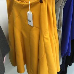 Low Classic curve line skirt, $85 (was $235)