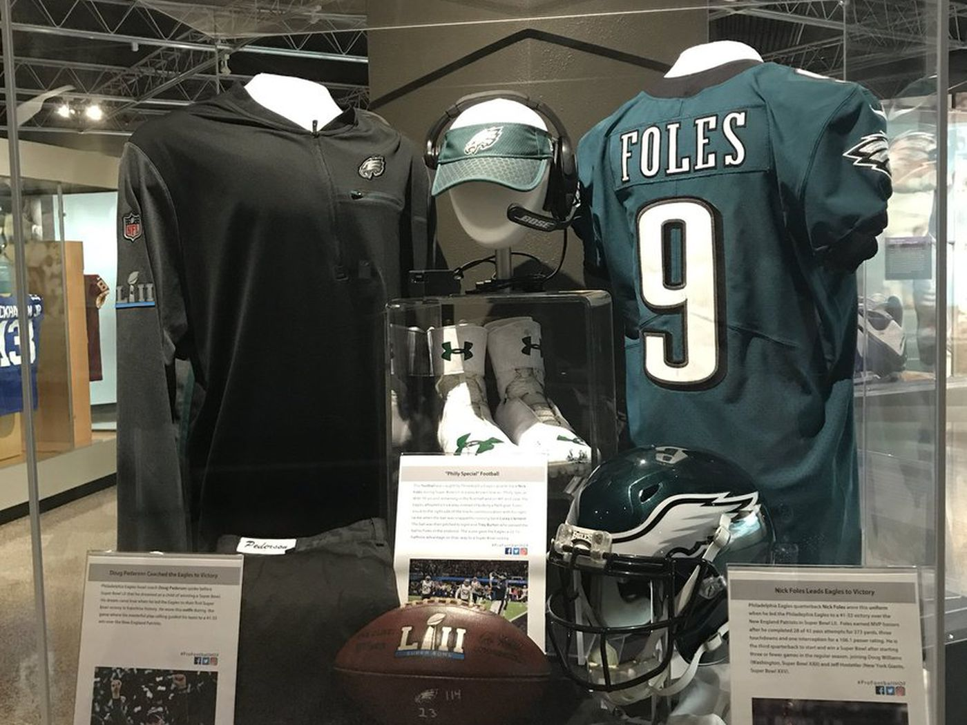 fab5c9dbefb Nick Foles now has another jersey in the Pro Football Hall of Fame -  Bleeding Green Nation