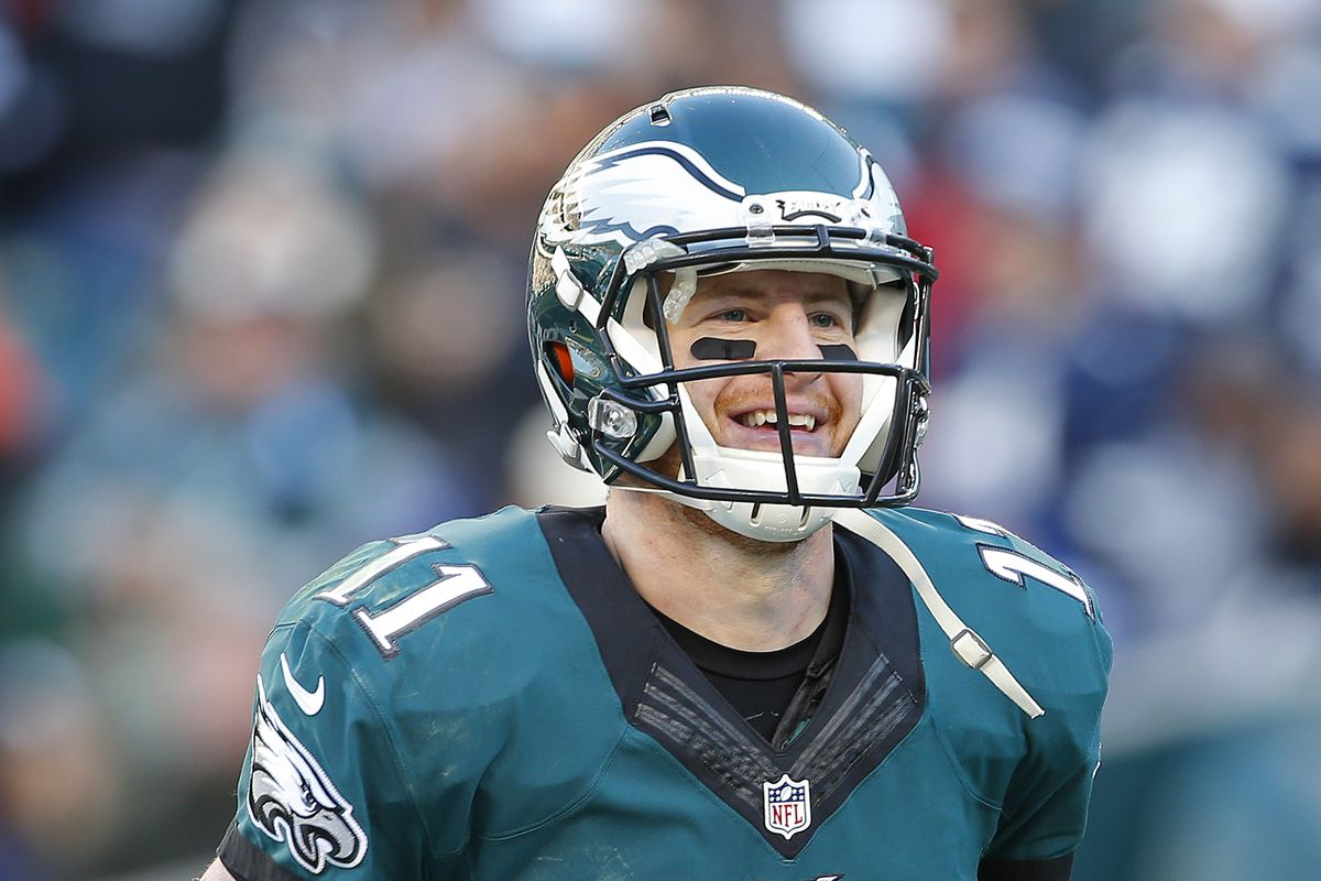 8d99f41ee Eagles News: Carson Wentz and the Eagles have combined to raise over ...