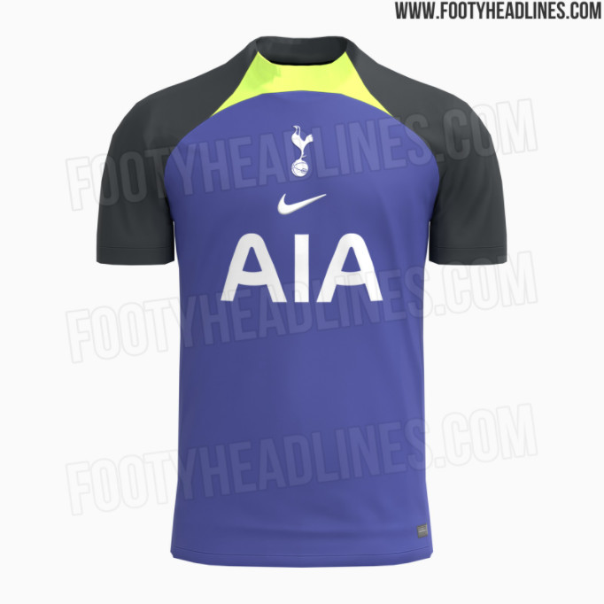 Tottenham S 2021 22 Third Kits Have Leaked And They Are Wild Cartilage Free Captain