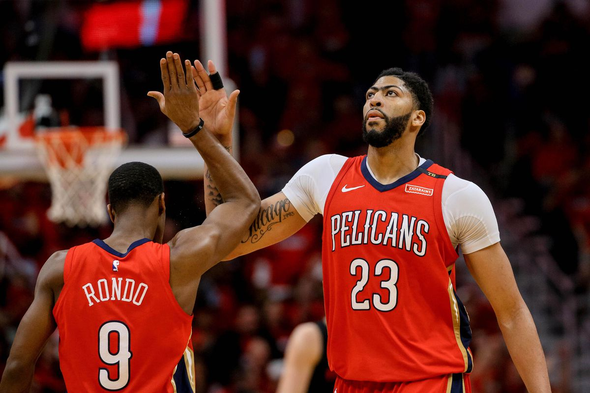 NBA Playoff Preview Pelicans Try To Eliminate Trail Blazers Advance To The Western Conference ...