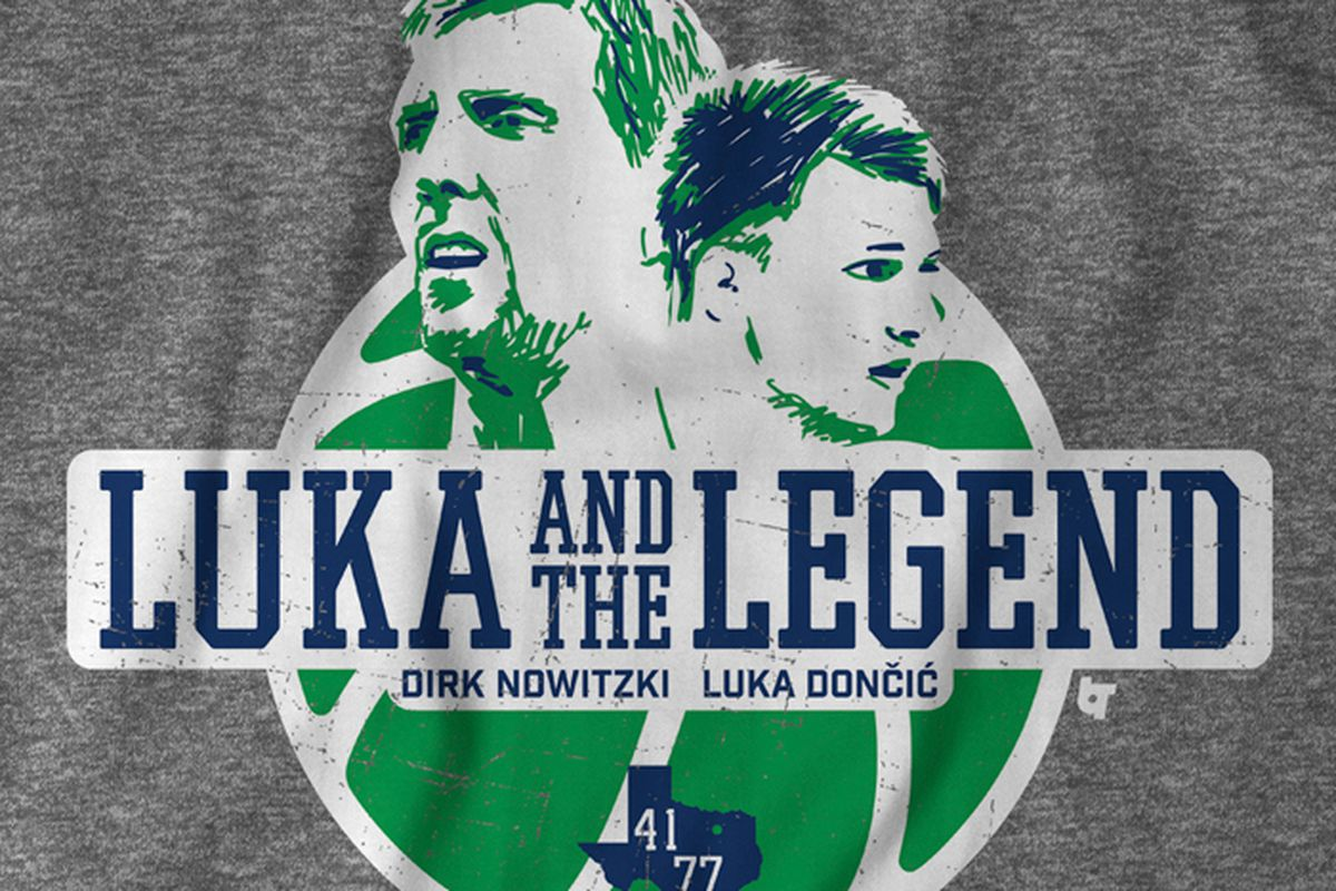 5ce0d3dfdf2 Celebrate the Mavericks drafting Luka Doncic with the world s most amazing  shirt