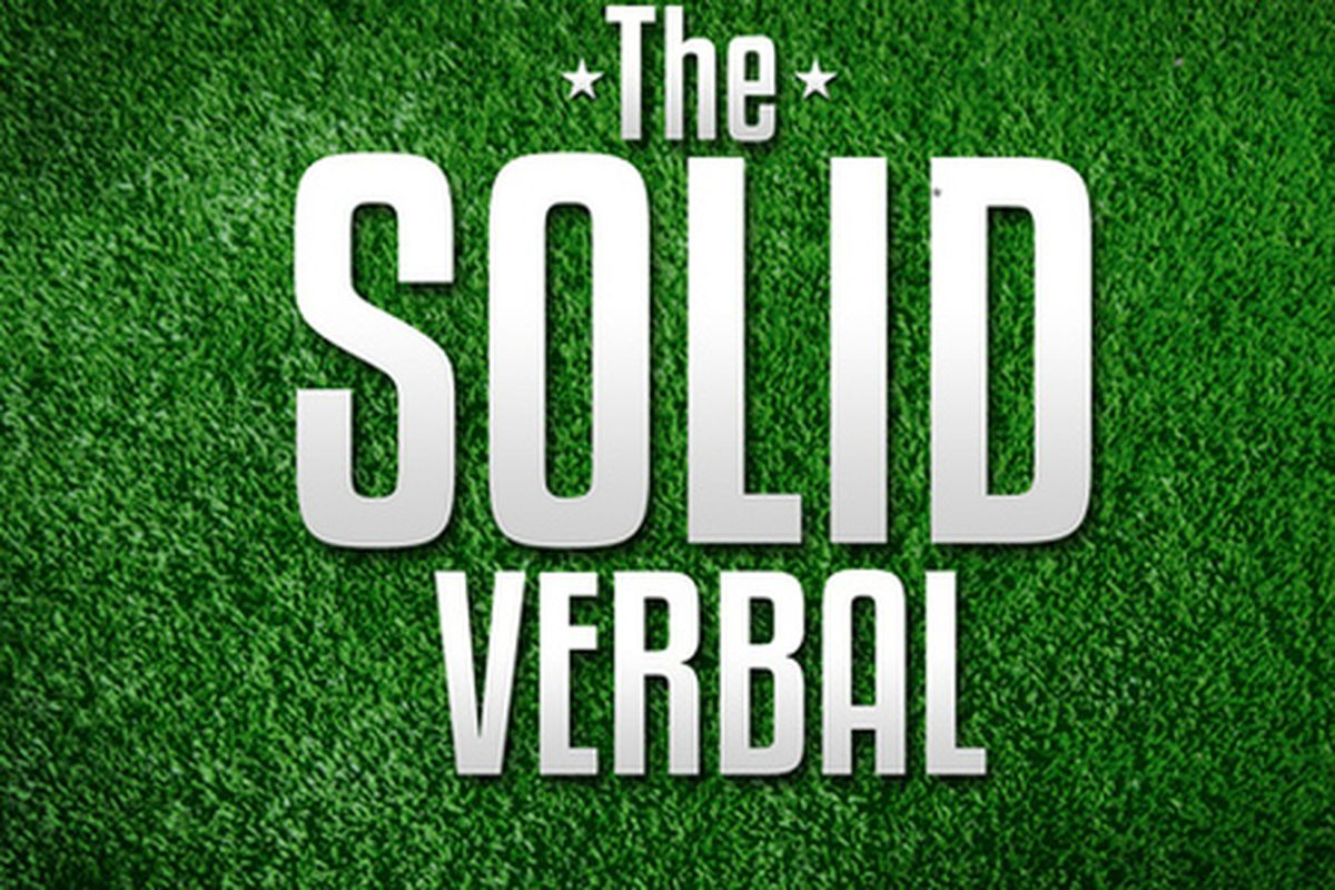 The Solid Verbal is live yet again at 6 p.m. CT.