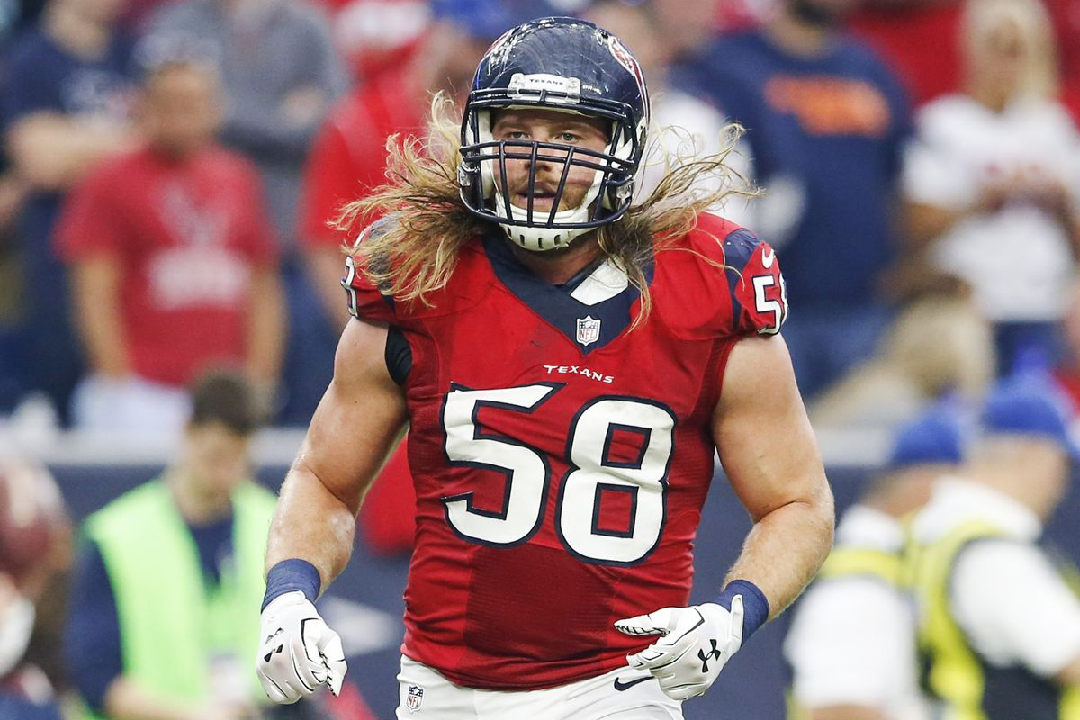 official photos 4a781 5150a 2015 Houston Texans Free Agent Tracker: Brooks Reed Signs ...