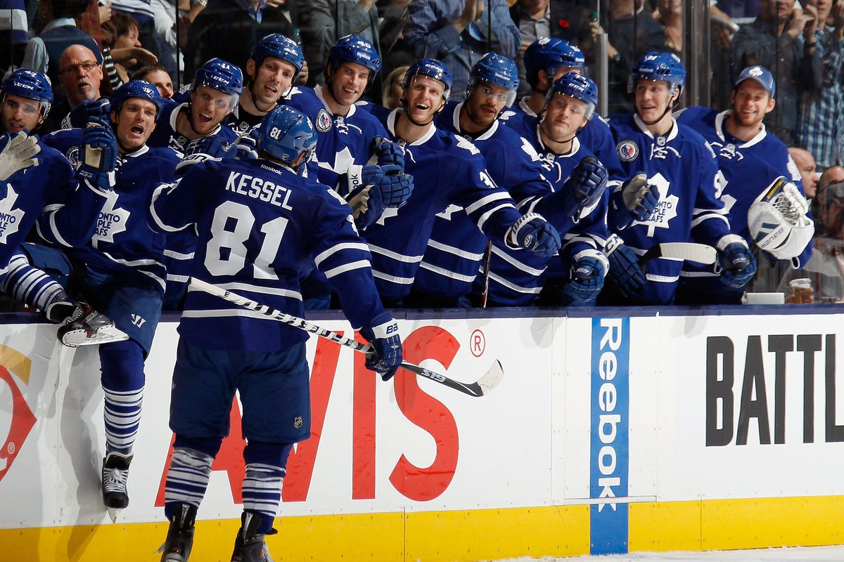 Hockey is Phil Kessel's game, and we are just lucky enough to watch it.