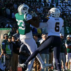 Sergio Bailey catches it to set up the next TD