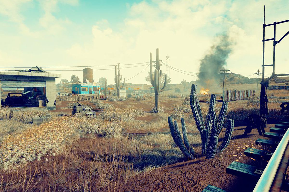 your first look at playerunknown s battlegrounds new desert map