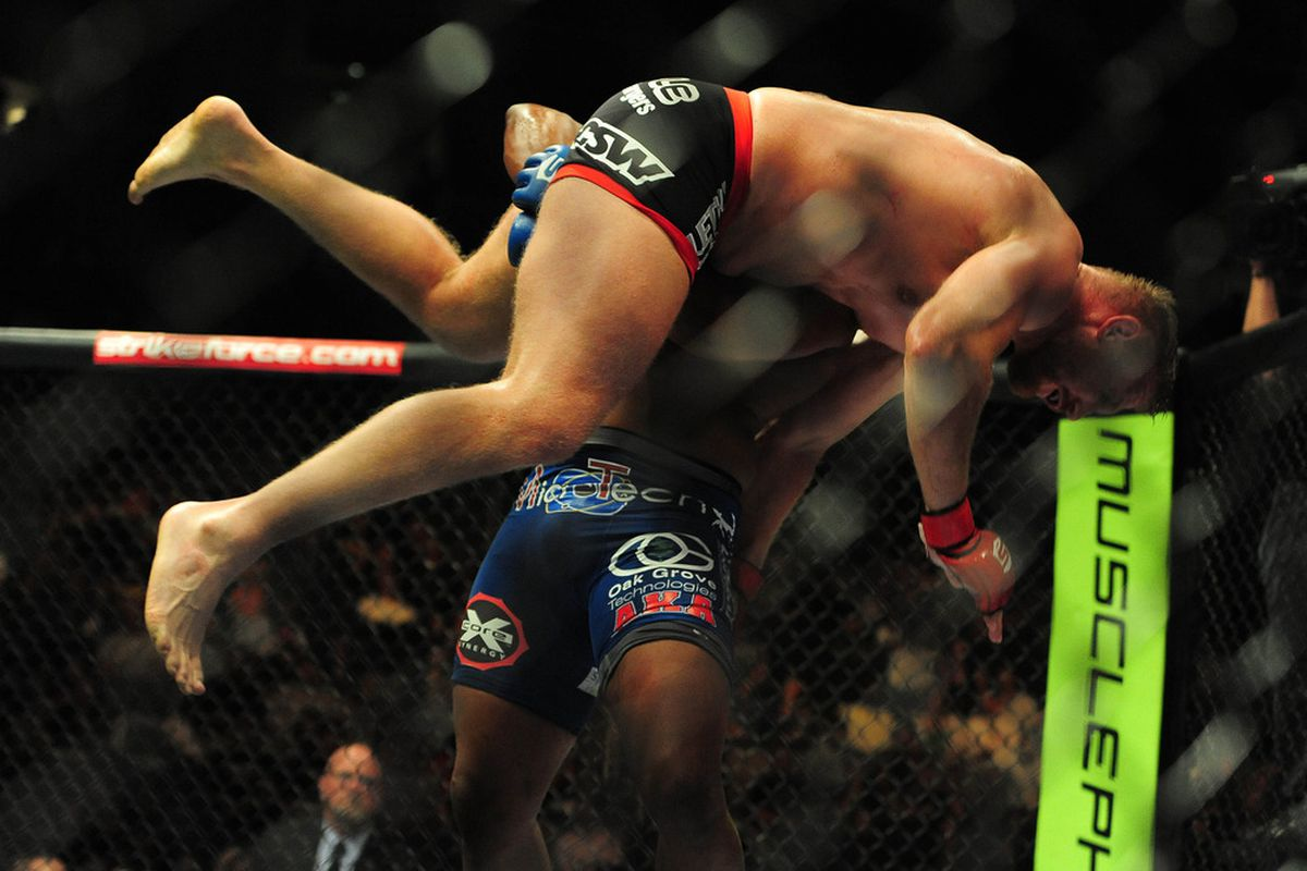 Strikeforce Judo Chop: Daniel Cormier's Scintillating Slam ...