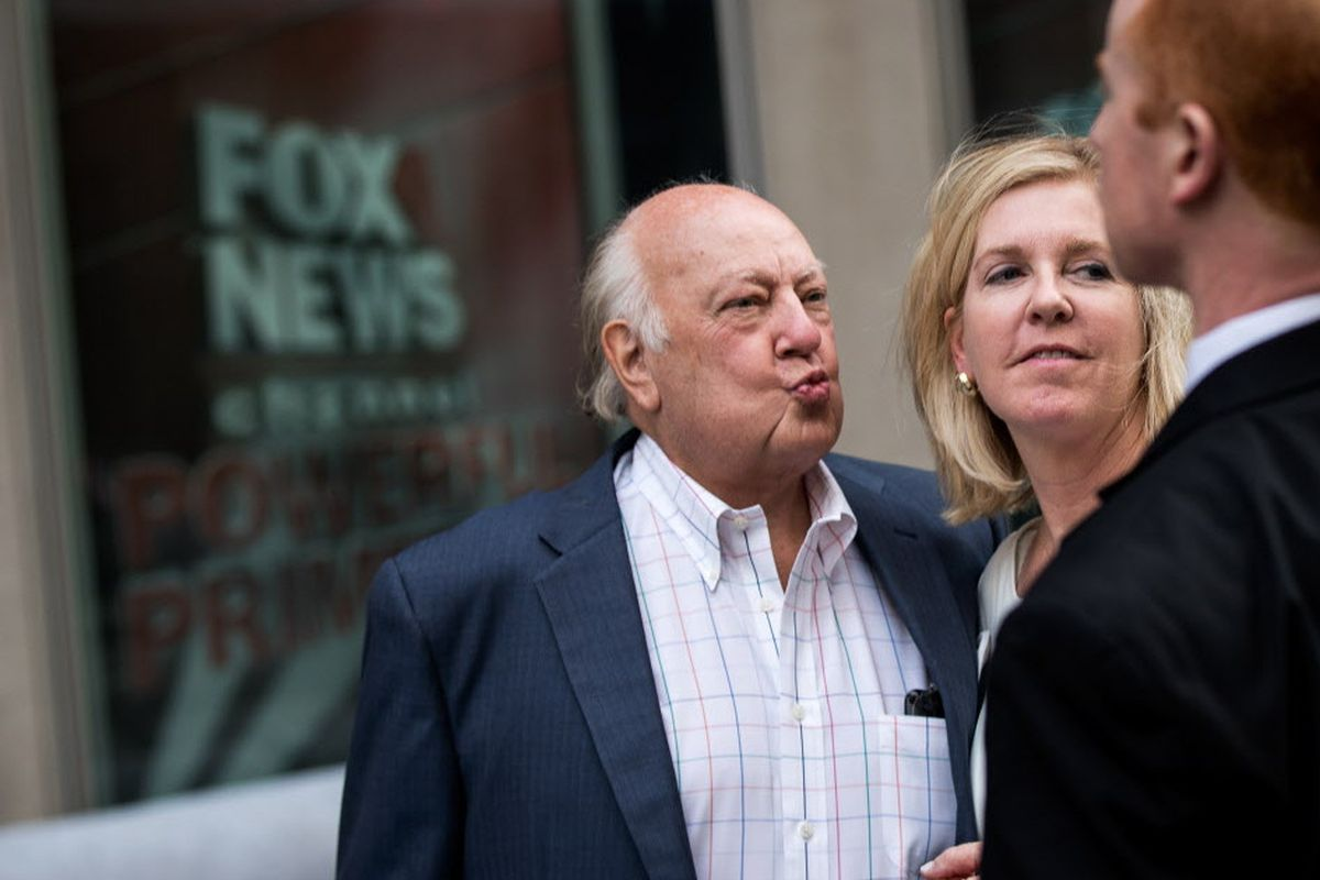 Roger Ailes is out as head of Fox News, Fox Business