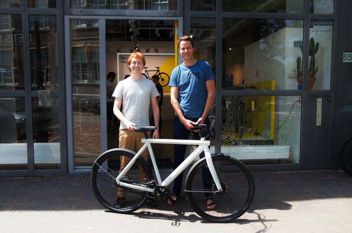 VanMoof's new theft-defying Electrified bikes are serious, fun - The