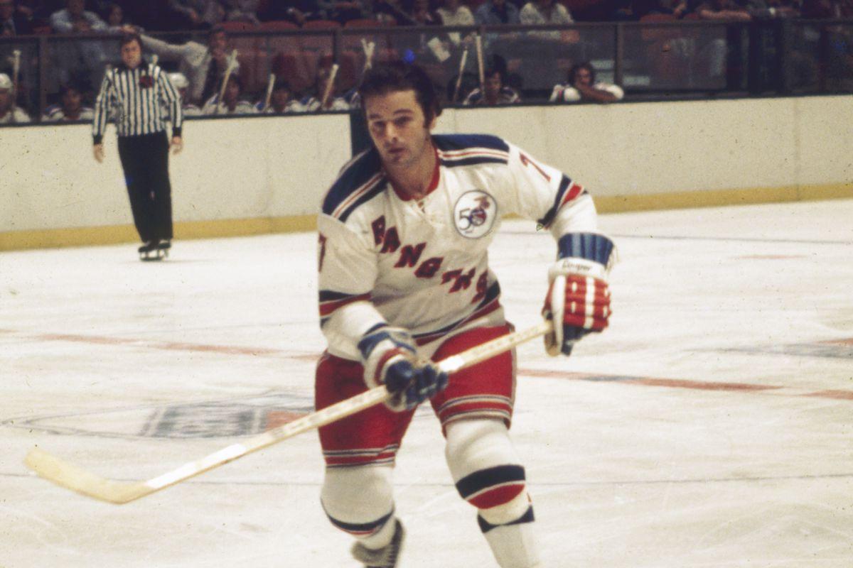 Rod Gilbert On The Ice